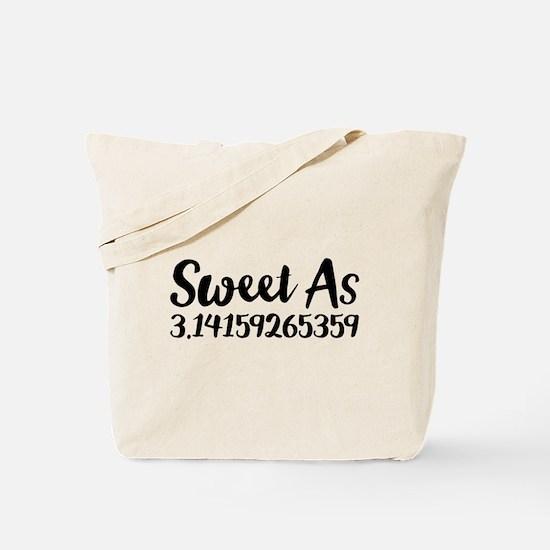 Sweet As 3.14 Tote Bag