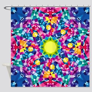 Ordered Chaos Shower Curtain