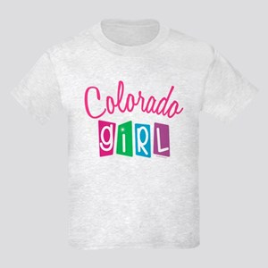 COLORADO GIRL! Kids Light T-Shirt