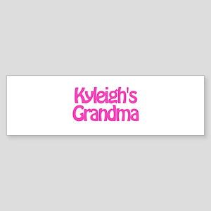 Kyleigh's Grandma Bumper Sticker