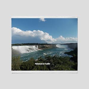 Niagara Falls1 Throw Blanket