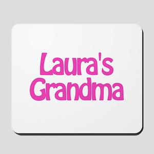 Laura's Grandma Mousepad