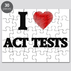 I Love ACT TESTS Puzzle