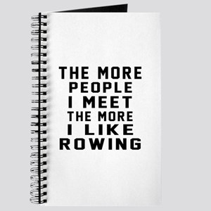 I Like More Rowing Journal