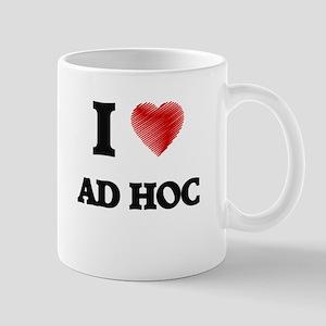 I Love AD HOC Mugs