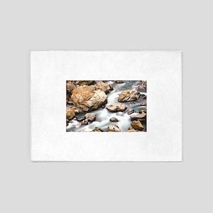 rocks and brook pass 5'x7'Area Rug