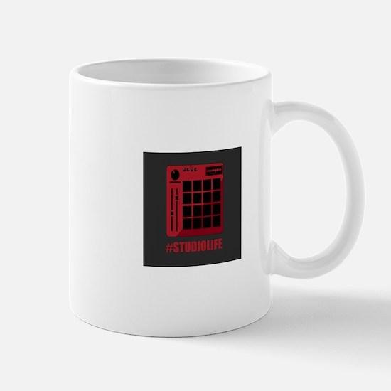 Studio Life Black and Red MPC Pad Mugs