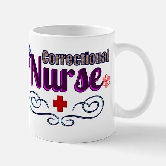 Pretty Correctional Nurse Mugs