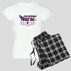 Pretty Correctional Nurse Pajamas