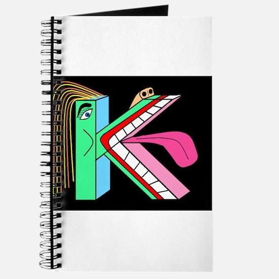 FACE OF THE LETTER 'K' Bluegr Journal