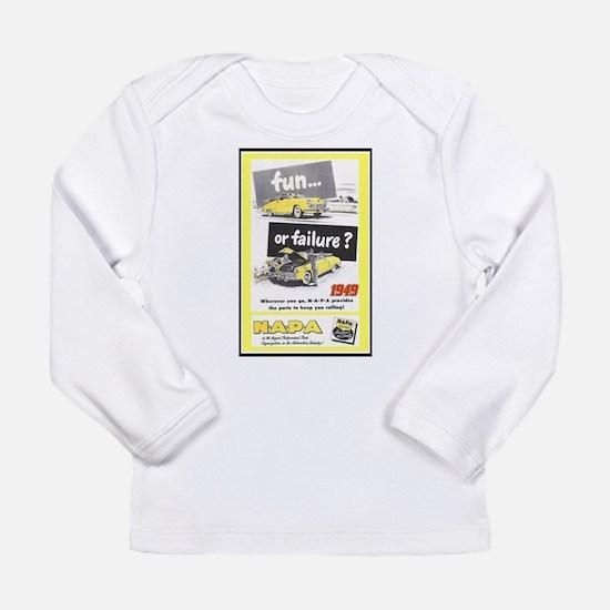 """""""1949 NAPA Ad"""" Long Sleeve T-Shirt"""