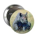 Seated Baby Rhino Button
