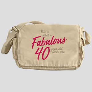 Fabulous 40-Year-OId Messenger Bag
