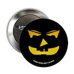 Maniacal Carved Pumpkin Button