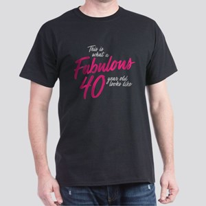 Fabulous 40-Year-OId Dark T-Shirt