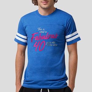Fabulous 40-Year-OId Mens Football Shirt