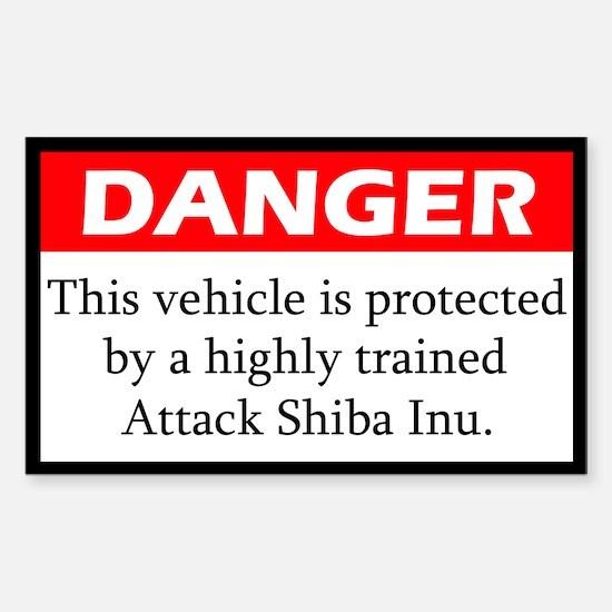 Attack Shiba Inu Decal