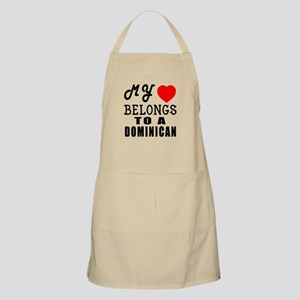 I Love Dominican Apron