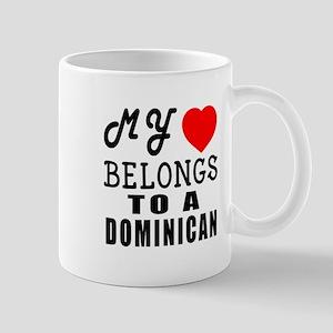 I Love Dominican Mug