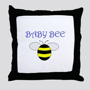 BABY BEE Throw Pillow