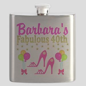 CUSTOM 40TH Flask