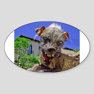 UGLIEST DOG! Sticker