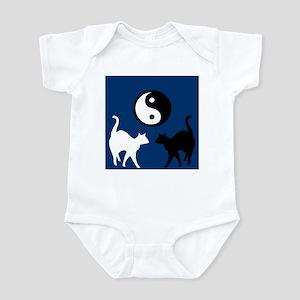 YIN YANG CATS Infant Bodysuit