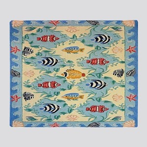 Tropical Fish Throw Blanket