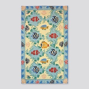 Tropical Fish Area Rug