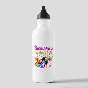 CUSTOM 40TH Stainless Water Bottle 1.0L