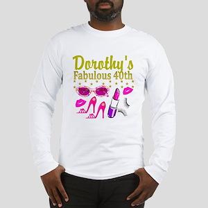 CUSTOM 40TH Long Sleeve T-Shirt