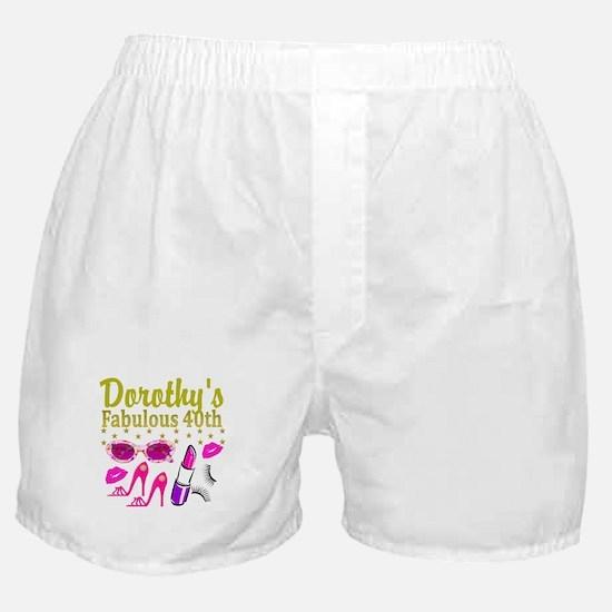 CUSTOM 40TH Boxer Shorts