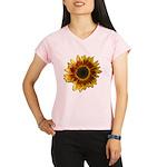 Star Burst Sunflower Performance Dry T-Shirt