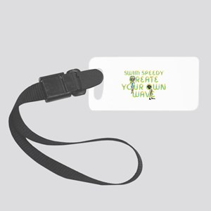 Create Your Own Wave Small Luggage Tag
