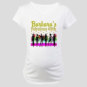 CUSTOM 40TH Maternity T-Shirt