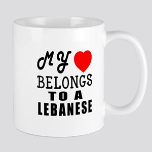 I Love Lebanese Mug