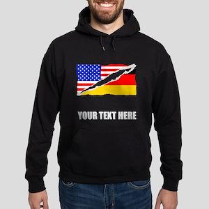German American Flag Hoodie