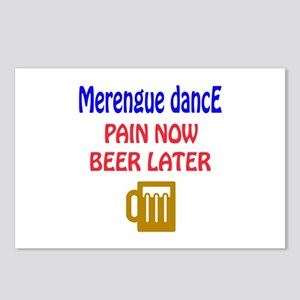 Merengue dance Pain now B Postcards (Package of 8)