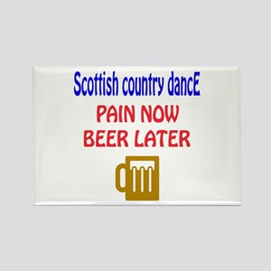 Scottish Country dance Pain now B Rectangle Magnet