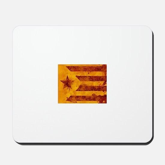 The Estelada - Catalan independentist fl Mousepad