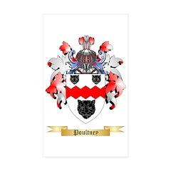 Poultney Sticker (Rectangle 10 pk)