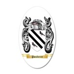 Poulterer 20x12 Oval Wall Decal