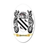 Poulterer 35x21 Oval Wall Decal