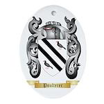 Poulterer Oval Ornament
