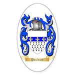 Poulsum Sticker (Oval 50 pk)