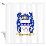 Poulsum Shower Curtain