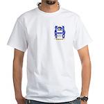 Poulson White T-Shirt
