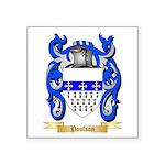 Poulson Square Sticker 3