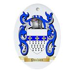Poulson Oval Ornament