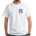 Poulsen White T-Shirt